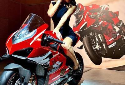 In anteprima la foto della Ducati V4 Superleggera 2020