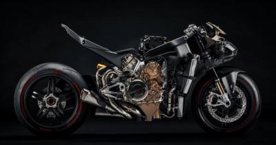 Anteprima: la nuova Ducati V4 Superleggera a nudo