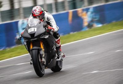 Haslam con la nuova CBR il più veloce sotto la pioggia di Jerez
