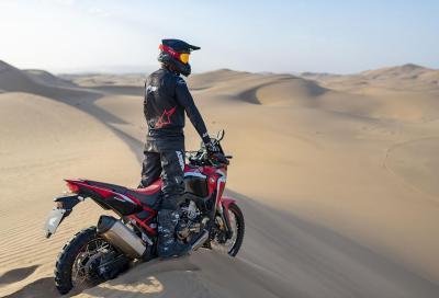 Honda omaggia i clienti Africa Twin per celebrare la Dakar 2020