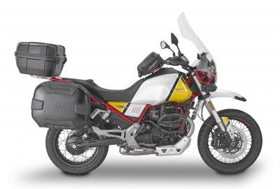 Gli accessori di Givi per Moto Guzzi V85 TT