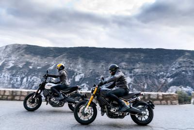 In azione con le nuove Ducati Scrambler PRO
