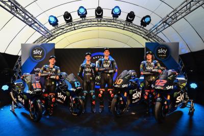 Lo Sky Racing Team VR46 è pronto per il 2020