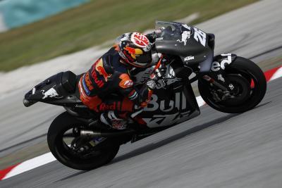 Pedrosa vola su KTM, Lorenzo assente