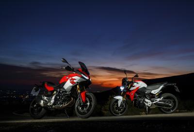 BMW: F 900 R e XR entrano in gamma; invariato il prezzo degli altri modelli