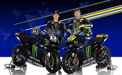 La nuova Yamaha M1 di Rossi e Viñales
