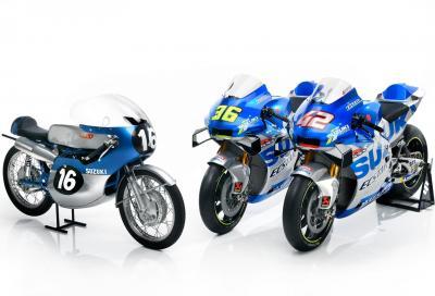 La GSX-RR 2020 omaggia i 60 anni di competizioni Suzuki
