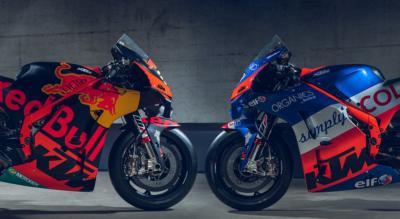 KTM toglie i veli alle MotoGP RC16 2020