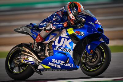 Volano le Suzuki nel day 1 dei test MotoGP in Qatar
