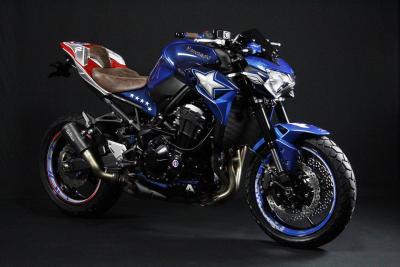 La Kawasaki Z900 di Captain America