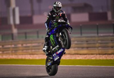 Viñales domina i test MotoGP in Qatar, Rossi fuori dalla top ten