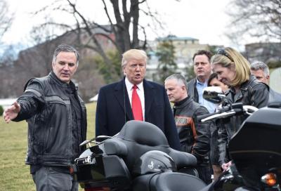 Terremoto in Harley-Davidson