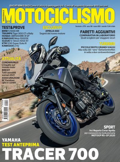 Motociclismo di marzo 2020 è in edicola