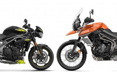 Triumph: nuovi programmi di garanzia per le moto usate