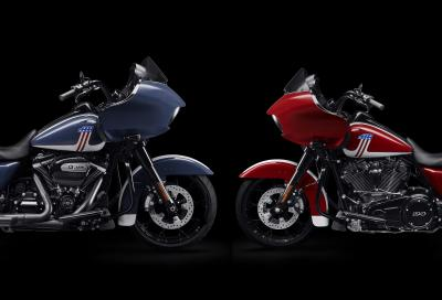 """""""Born in the USA"""", due nuove livree per la H-D Road Glide Special"""