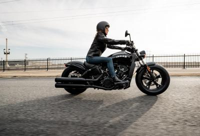 Arriva la Indian Scout Sixty in versione Bobber