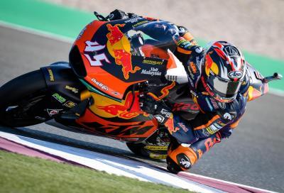 Nagashima mette in riga gli italiani e vince in Moto2 a Losail