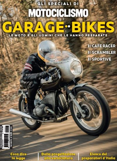 """È in edicola """"Garage Bikes"""", con le migliori special italiane"""