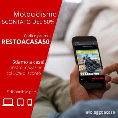 Motociclismo digitale con il 50% di sconto