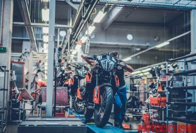 KTM chiuderà la sede di Mattighofen