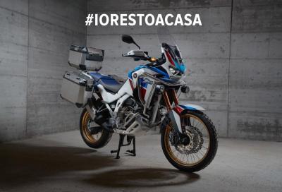 """I motociclisti rispettano il """"decreto #IoRestoaCasa"""""""