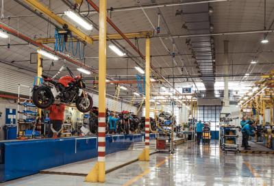 MV Agusta sospende la produzione