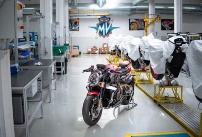 MV Agusta lotta contro il Coronavirus