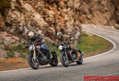Indian FTR 1200 S vs Triumph Speed Twin