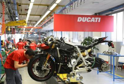 Ducati prolunga la chiusura dello stabilimento di Borgo Panigale