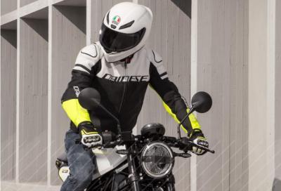 Dainese Agile Leather Jacket, pelle e cordura per uno stile sportivo
