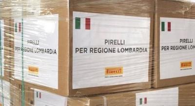 Pirelli al fianco della Lombardia nella lotta al Coronavirus