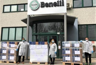 Benelli aiuta la Croce Rossa Italiana