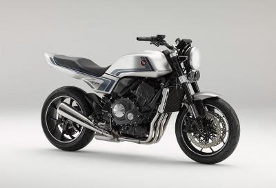 Honda presenta la CB-F Concept, naked ispirata alla CB900F
