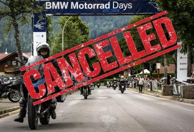 Cancellati i BMW Motorrad Days 2020