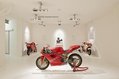 Puoi visitare il Museo Ducati stando a casa