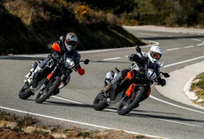 Richiamo per le KTM 790 Adventure