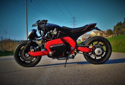 Una special da concorso nata in quarantena firmata FMW Motorcycles