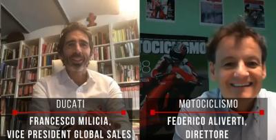 """Ducati: """"concessionari in videochiamata per configurare la vostra nuova moto"""""""