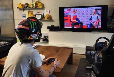 MotoGP virtuale: pole e vittoria per Bagnaia al Red Bull Ring
