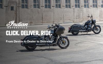 Click. Deliver. Ride. La moto arriva a domicilio