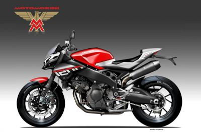 Moto Morini 1200 Bad Guy, aggressiva streetfighter