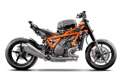 KTM 1290 Super Duke R: i segreti della ciclistica