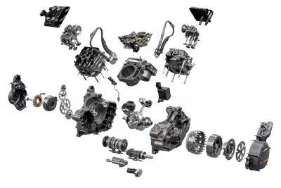 KTM 1290 Super Duke R 2020: i segreti del motore LC8