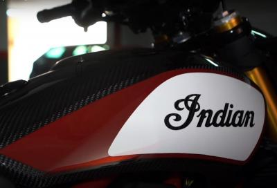 In arrivo la nuova Indian FTR Carbon