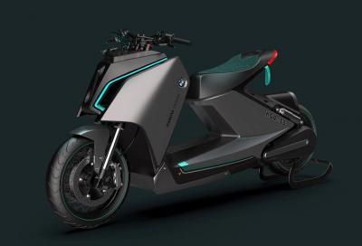 K04-55 proietta lo scooter elettrico di BMW nel futuro
