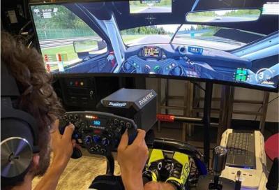 """Rossi sfida Leclerc -in auto- alla """"All Stars Racing Night"""""""