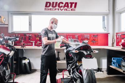 Ducati: estensione garanzia e aggiornamenti software gratuiti