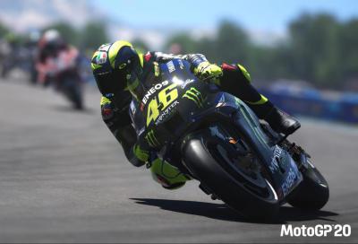 La MotoGP virtuale arriva a Misano. Rossi c'è