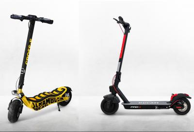 Mobilità urbana: e-bike pieghevoli e monopattini Ducati
