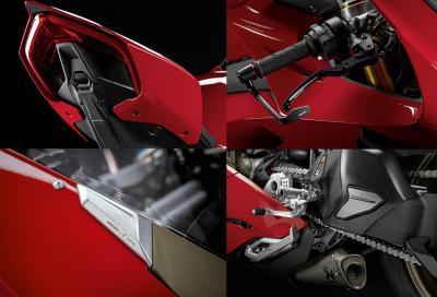 Più grinta per la Panigale V4 con il kit accessori Racing